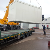 Container-Rechenzentrum nach Togo verschifft