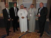 EUBKZGW schließt mehrere Rahmenverträge in Abu Dhabi