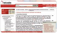 Neues Fachmodul Bank- und Kapitalmarktrecht PREMIUM   jetzt in beck-online