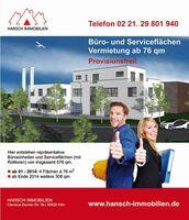 Hansch Immobilien: Kölner Neubau Vermietung von Gewerbeflächen