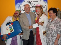 DKFW fördert Besuche der Kölner Klinikclowns