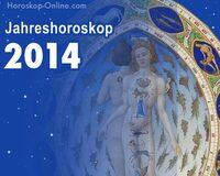 Horoskop 2014 - so wird das kommende Jahr