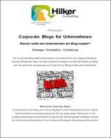 Whitepaper: Corporate Blogs für Unternehmen