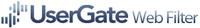 Neue UserGate Web Filter Version mit Virenscanner für Internetverkehr auf Basis der DCI-Technologie