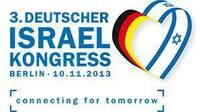 Deutscher Israelkongress 2013 in Berlin  Connecting  for tomorrow