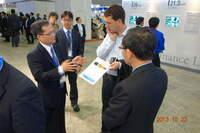 ITRI und Komori geben Einzelheiten zur auf der FDP International 2013 in Yokohama ausgestellten 7-in-1-Präzisions-Walze-zu-Walze-Drucktechnik bekannt