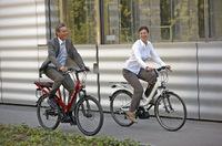 Rückenfreundlich Radfahren