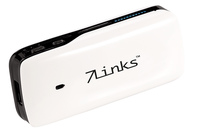 7Links Mini-WLAN-Router mit Powerbank