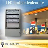 Wir sind heller stellt LED Tankstellenleuchte vor