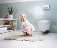 Frische Luft im Traumbad: Luftfiltersystem für die Toilette