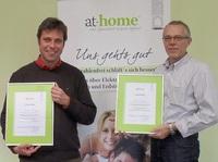 Wieder zwei neue Franchise-Partner bei at-home baubiologie