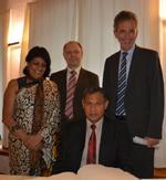 Besuch aus Sri Lanka: Experten für Hydrologie tauschen sich aus