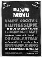 Grusel-Dinner: Spezielles Halloween-Menü im Frankfurter Restaurant Maximilian