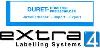 DURET-Etiketten jetzt bei eXtra4