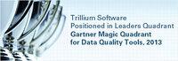 Trillium Software ist wieder Leader im Magic Quadrant for Data Quality Tools 2013