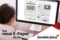Schwäbische Zeitung mit neuem E-Paper