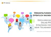 Mit erfolgreichen Online-PR Strategien Veranstaltungen bewerben
