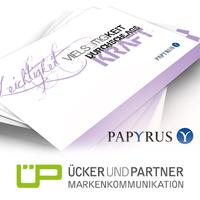 Schwarz auf weiß: Papiergroßhändler engagiert Ücker und Partner