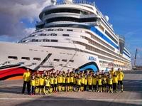 Erfolgreiche AIDA Fußball-Kreuzfahrt mit Borussia Dortmund