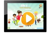 Macht Spaß und Sinn und spielend schlau. Neue kindgerechte App zur Händehygiene.