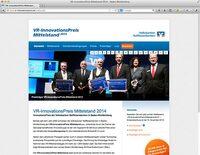 VR-InnovationsPreis Mittelstand 2014 - Bewerbungsfrist endet bald