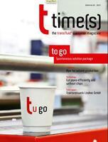 Die neue t times(s) ist da - das Magazin rund um die Rohrbearbeitung