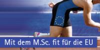 Mit dem M.Sc. fit für die EU