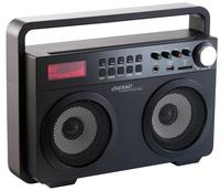 auvisio Ghettoblaster MPS-689.BT mit Bluetooth und MP3-Player