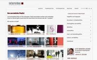 Brandneue Intervideo Filmproduktion-Website online