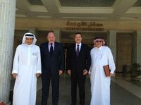 EUBKZGW-Chef Klaus Aulenbacher baut Saudi-Arabien-Kontakte weiter aus