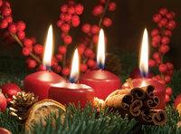 Vorsicht beim Umgang mit Kerzen