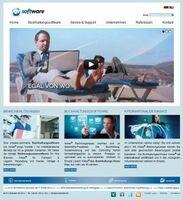 Die neue Homepage ist interaktiv und setzt auf Bewegtbild