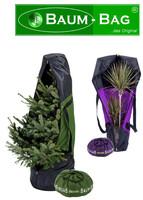 Weihnachtsbaum- und Pflanzentransporttaschen in neuen Trendfarben