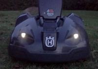 Die Rasenmäher Roboter werden