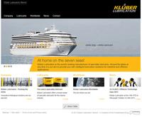 Klüber Lubrication präsentiert neue Website für die Marine-Industrie