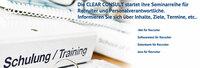 CLEAR CONSULT GmbH startet Seminarreihe für Recruiter und Personalverantwortliche