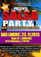 Salsa Party am 23.11. in Liners (Oldenburg)