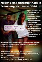 Neuer Salsa Anfänger Kurs in Oldenburg ab Januar 2014