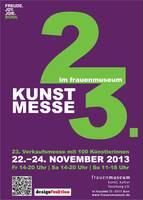100 Künstlerinnen stellen aus - Frauenmuseum wird zur Kunstmesse