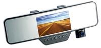 NavGear FullHD-Rückspiegel-Dashcam, BT, G-Sensor: MDV-2300.rs