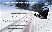 TÜV SÜD: Winterliche Serpentinen am Steuer meistern