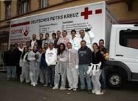 Alpensped-Mannschaft packt an