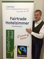 Certified und Fairtrade Deutschland entwickeln Hotelzimmer