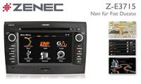 Einfach Nachrüsten mit Zenecs Navi Z-E3715 für Fiat Ducato