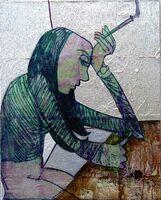 Aussichtsreicher Künstler aus Granada in der Berliner DIVERSITY ART GALERIE