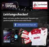 Sparhandy und 1. FC Köln starten erstes Tippspiel mit Live-Spieldaten