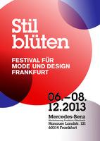 Stilblüten Festival für Mode und Design Frankfurt