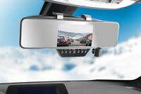 NavGear FullHD-Rückspiegel-Dashcam, BT, G-Sensor, 4.3