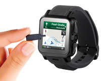 """simvalley MOBILE 1.5""""-Smartwatch AW-414.Go mit Android4"""