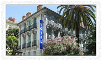 Nizza als Winterurlaubsziel: Offerte des Hôtel Villa Rivoli für deutsche Urlauber